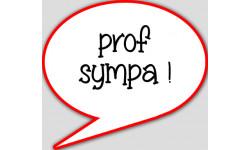 stickers / autocollant prof sympa