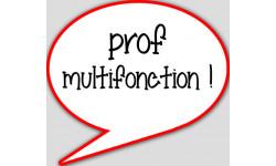 stickers / autocollant prof multifonction