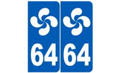 numero immatriculation 64 basque (Pyrénées-Atlantiques)