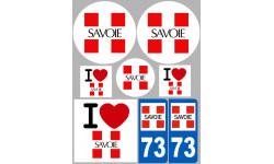 stickers / autocollant département de la Savoie