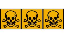 Stickers  / Autocollant toxique