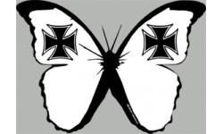 """stickers autocollants """"effet papillon Malte"""""""
