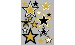 stickers / autocollant étoile