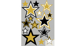stickers / autocollant étoiles