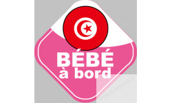 bebe a bord Tunisienne