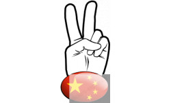 salut de motard chinois