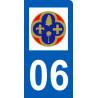 immatriculation motard departement des Alpes Maritimes