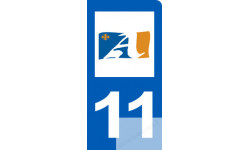 immatriculation motard departement de 11 L'Aude