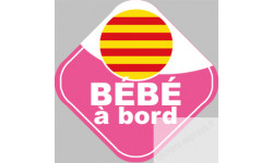 bebe a bord fille catalane
