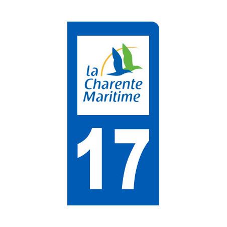 immatriculation motard departement de la Charente Maritime