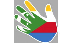 drapeau Comores main