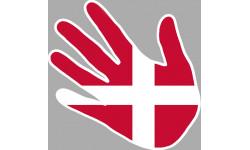 drapeau Danemark main