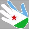 drapeau Djibouti main