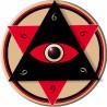 autocollant illuminati