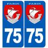 numéro immatriculation 75 Paris