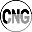 autocollant CNG