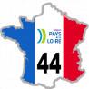 autocollant FRANCE 44