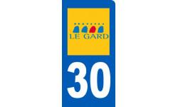 immatriculation motard du Gard