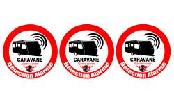 Autocollants : Alarme pour Caravane