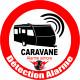 Autocollant alarme pour Caravane
