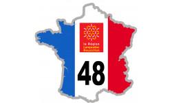 autocollant FRANCE 48