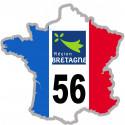 autocollant FRANCE 56