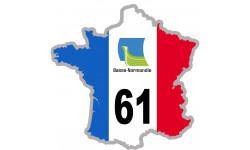 autocollant FRANCE 61