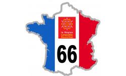 sticker / autocollant FRANCE 66