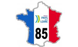 sticker / autocollant FRANCE 85 Région Pays de Loire