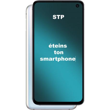 autocollant éteins ton smartphone
