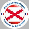 Sticker autocollant Produit bourguignon