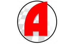 Sticker / autocollant : A Jeune Conducteur - Modèle 13 - 15x15cm
