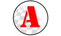 Sticker / autocollant : A Jeune Conducteur - Modèle 4 - 15x15cm