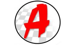 Sticker / autocollant : A Jeune Conducteur - Modèle n°15 - 15x15cm