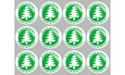 Stickers autocollants série Produits du Vercors