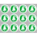 Autocollants : Stickers autocollants série Produits du Vercors - 12 autocollants de 5 cm de diamètre