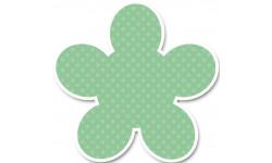Stickers / autocollant Valise aéroport vert