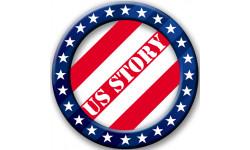 Stickers / autocollant USA 3