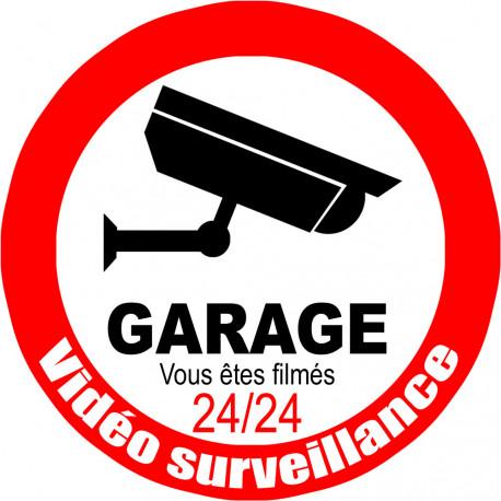 vidéo surveillance Garage