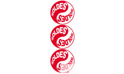 Stickers  / Autocollants série YIN YANG SOLDES 3