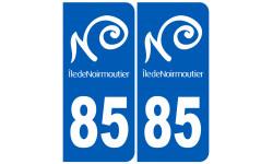 numéro immatriculation 85 Noirmoutier