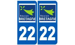 numero immatriculation 22 (region)
