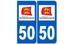 immatriculation 50 Normand