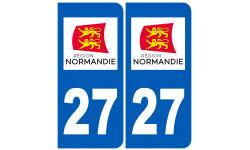immatriculation 27 Normand