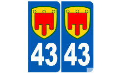 numero immatriculation 43 Auvergne