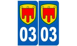 numero immatriculation 03 Auvergne