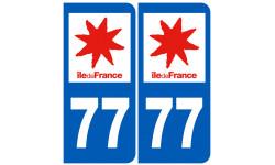 numero immatriculation 77 (region)