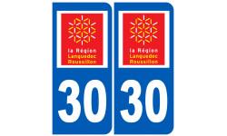 numero immatriculation 30 (region)