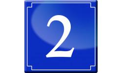 Sticker / autocollant : numéroderue1 - classique