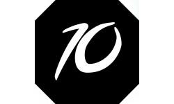 Sticker / autocollant : numéroderue10 - architecte